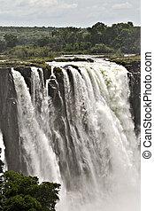 Victoria falls - Victoria Falls thru the mist ,...
