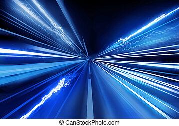 ライト, 極度, 速い, ビーム