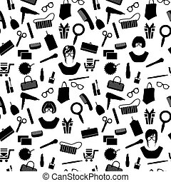 Woman stuff pattern