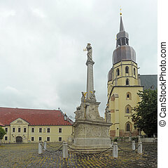 Square of the Holy Trinity - St. Nicolaus Church on Square...