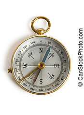 Old Compass close up shot