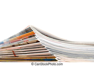 Magazines - Stack of magazines