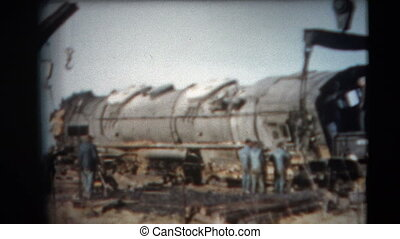 8mm Vintage - 60's Duluth Railroad - This footage is a home...