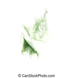 Abstract green watercolor background for  your design insult
