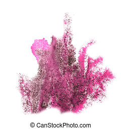Abstract brown,pink watercolor background for your design...