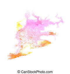 Abstract pink,brown watercolor background for your design...