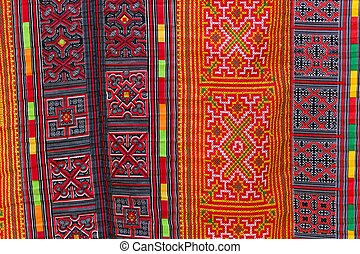 Asian carpet pattern