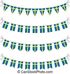 swedish bunting