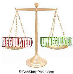 Regulated Vs Unregulated Rules Compliance Following...