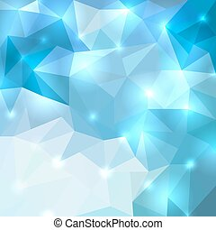 Polygonal shine background Vector illustration for your...