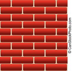 Cartoon-Like Brick Wall Texture Cartoon-Like Brick Wall...