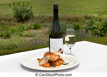Food and Wine - Free Range pan-seared Chicken Breast Fillet...