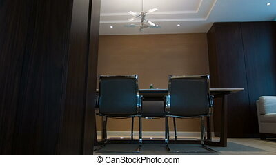 Interior of meeting room in hotel - Good style meeting room...