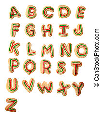 Tasty Alphabet