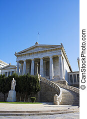 University of Athens, Greece - Image of the ancient...