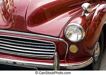 Vintage Car - Image of a vintage car.