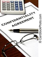 confidencialidade, acordo