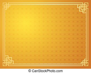 Chinese template - Chinese traditional template with...