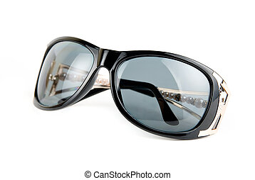 Female sunglasses - Female modern sunglasses isolated on...