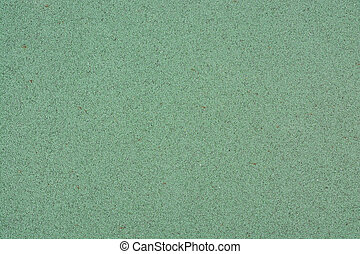 Texture of Green Color Playground rubber floor as Background...