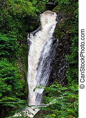 Git-Git falls on the island of Bali, one of the deepest and...