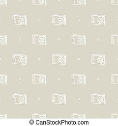 digital camera pattern - Seamless pattern with a digital...