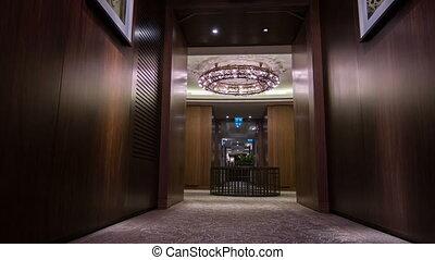 Interior of dark hotel room - Luxury Apartment Interior Low...