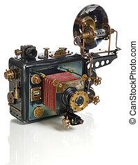 cámara, steampunk,