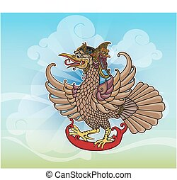Puppet character 'Jatayu' or Eagle - Jatayu is a mighty...