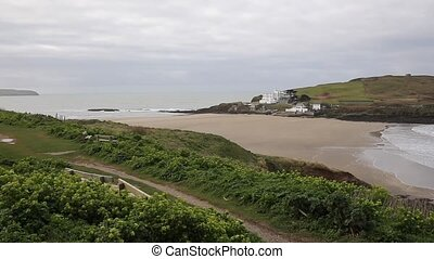 Burgh Island Devon England UK PAN - Burgh Island South Devon...