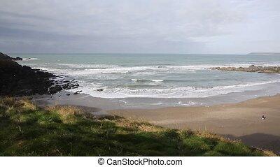 Challaborough beach South Devon uk - Challaborough beach...