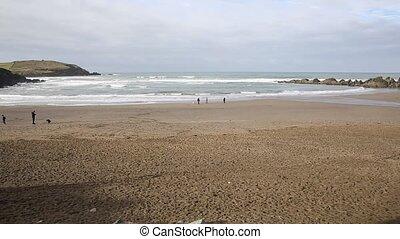 Challaborough beach Devon England - Challaborough beach...