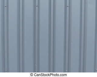 metal profile - A small portion of the metal corrugated...