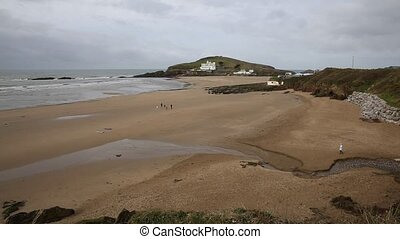 Beach and Burgh Island South Devon - Burgh Island South...