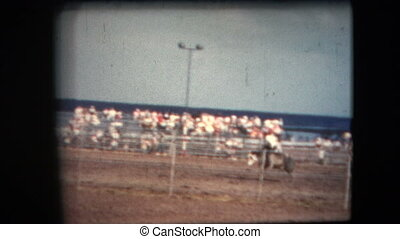 8mm Vintage - 60s California Rodeo - This footage is a home...