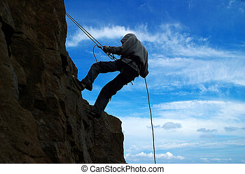 climb on a mountain - images of climb on a mountain