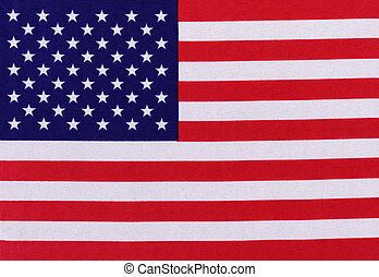 Stars and Stripes flag of the USA