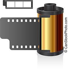 Film reel - Vector illustration of film reel