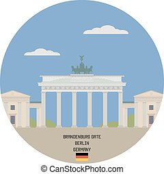 Brandenburg Gate. Berlin, Germany