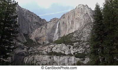 Upper And Lower Yosemite Falls - Yosemite Falls In Early...