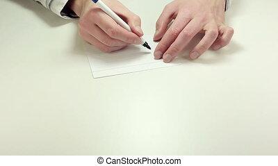 Short written advice Job