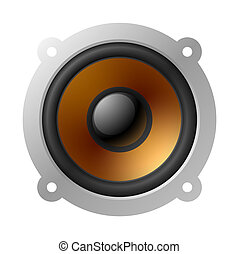 Loud speaker - Vector illustration of loud speaker