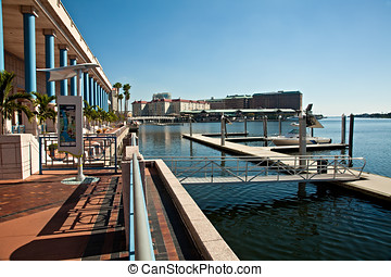 Downtown Tampa and Convention Center