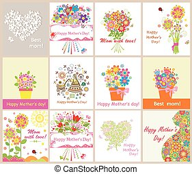 Greeting cards for mothers day