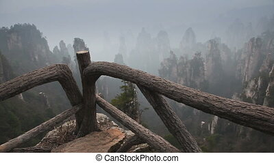 Wulingyuan mountain slider - Wulingyuan mountain in China (...