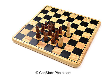 checkmate made by one horse - checkmate made by one chess...