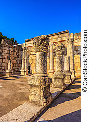 Ancient White synagogue - Ruins of the ancient White...