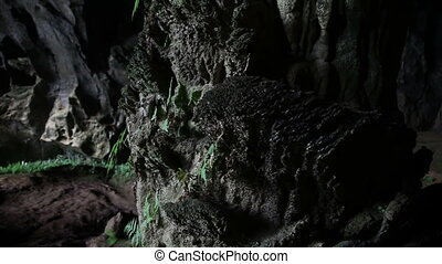 Rock inside cave slider shoot - Tu Lan caves system in Phong...