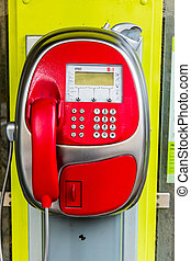 phone booth - payphone in austria, cell phone telekom...