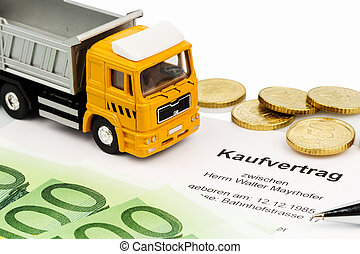purchase contract for new truck - a purchase contract for...